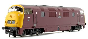Class 43 Warship 'Rapid' BR Maroon Full Yellow Ends Diesel Locomotive D838