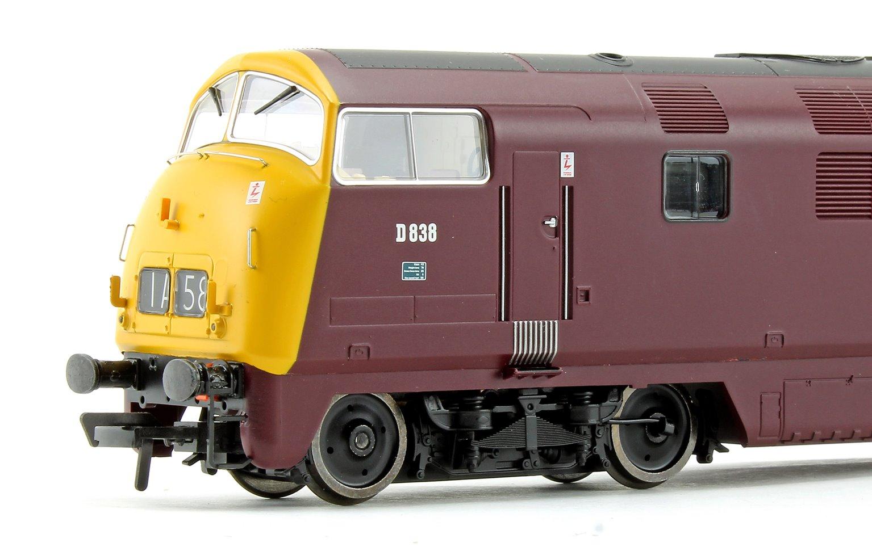Class 43 Warship 'Rapid' BR Maroon Full Yellow Ends Diesel Locomotive D838