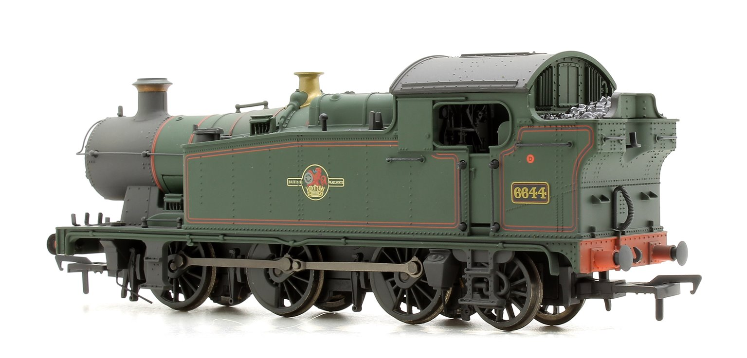 Class 56XX Tank 6644 BR Green Late Crest - Weathered