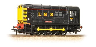 Class 08 No. 08601 'Spectre' in LMS Black livery *Collectors Club*