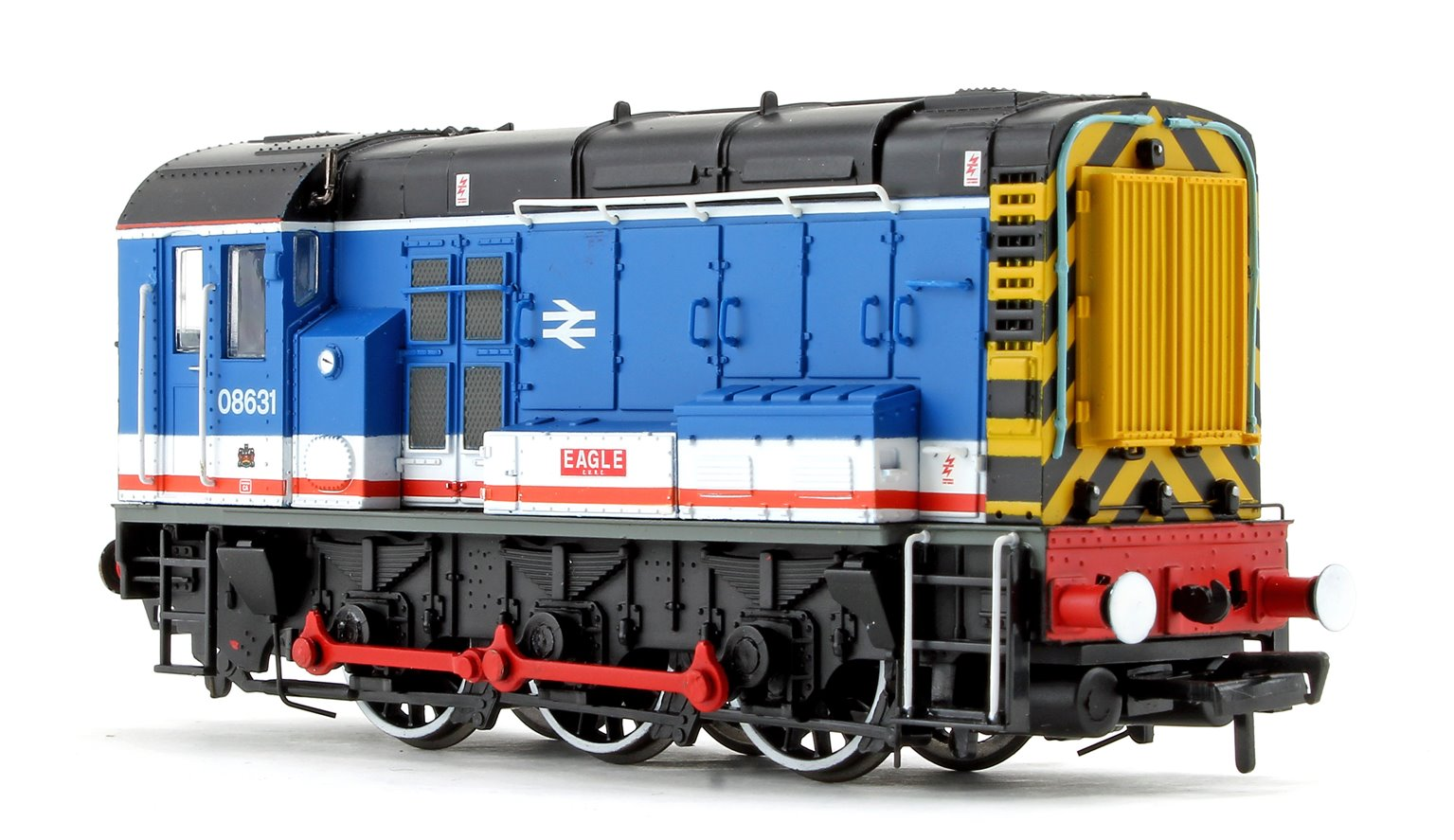 Class 08 631 'Eagle' Network South East Diesel Shunter Locomotive