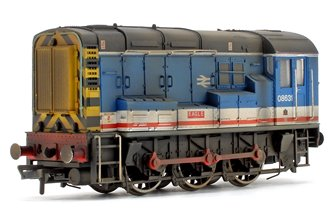 Custom Weathered Class 08 631 'Eagle' Network South East Diesel Shunter Locomotive