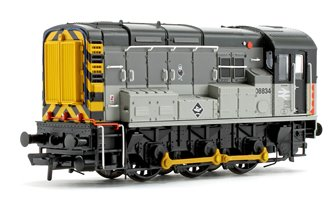 Class 08 834 BR Railfreight Distribution Triple Grey Diesel Shunter Locomotive
