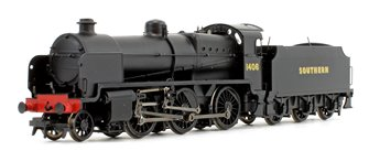 N Class Southern SR Black 2-6-0 Steam Locomotive No.1406