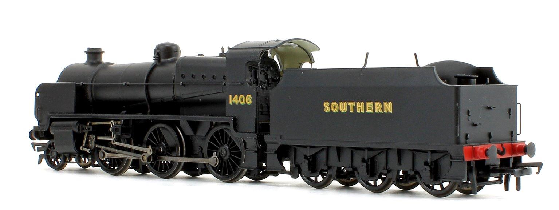 N Class Southern SR Black 2-6-0 Steam Locomotive No.1406