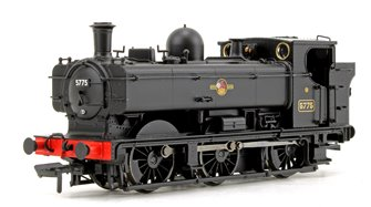 GWR 57xx Pannier Tank BR Black (Late Crest) Locomotive No. 5775