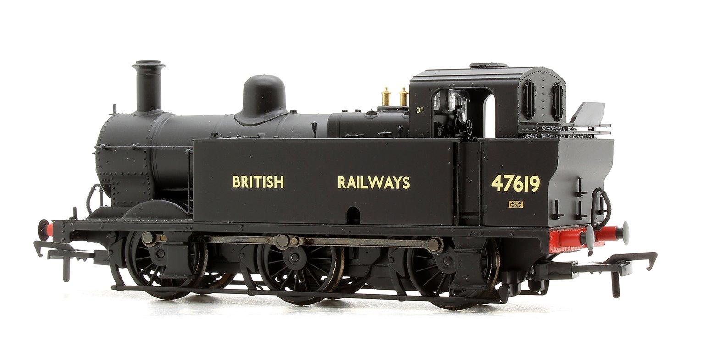 Fowler Class 3F 0-6-0 (Jinty) 47619 BRITISH RAILWAYS Black