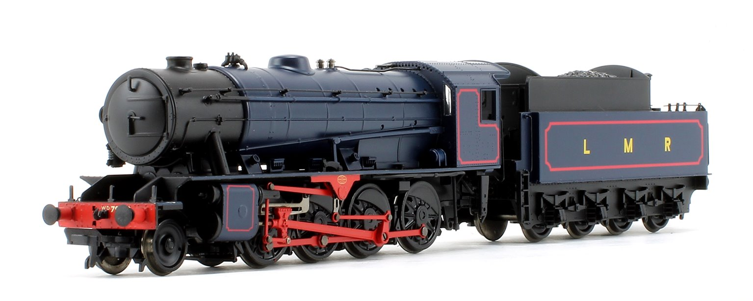 WD Austerity 'Major-General Mc Mullen' LMR Blue 2-8-0 Locomotive