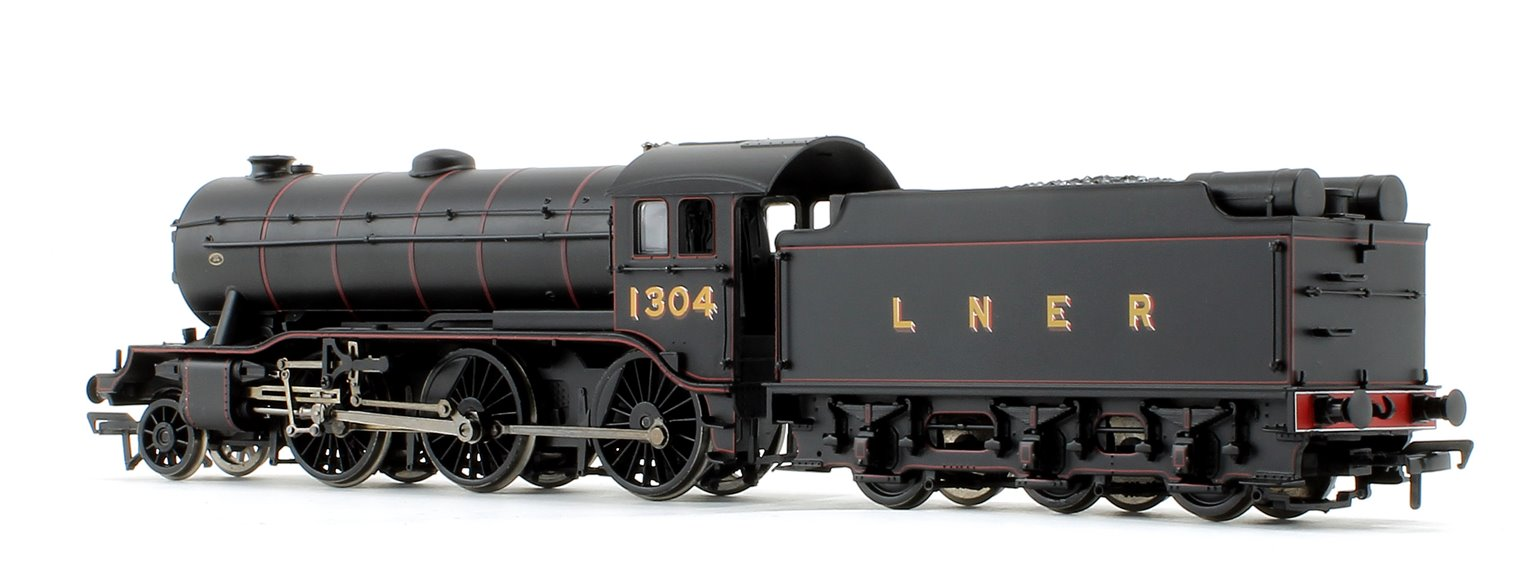 Class K3 LNER Lined Black 2-6-0 Steam Locomotive No.1304