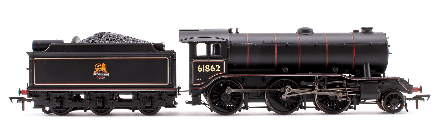 Class K3 BR Lined Black Early Emblem 2-6-0 Steam Locomotive No.61862