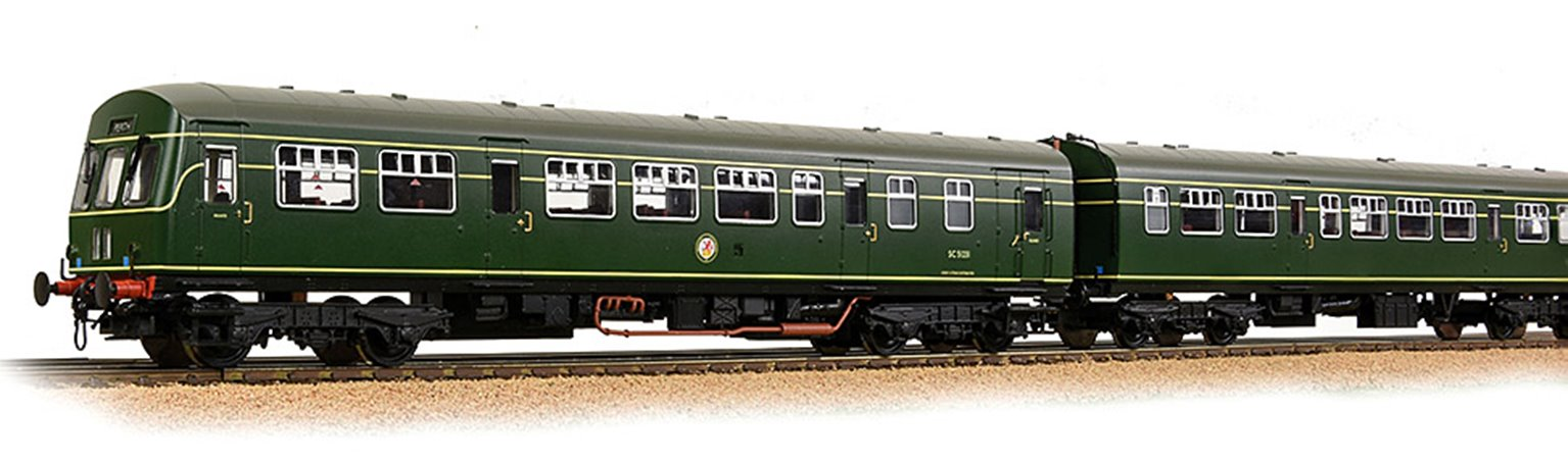 Class 101 2-Car DMU BR Green (Roundel) - DCC Sound