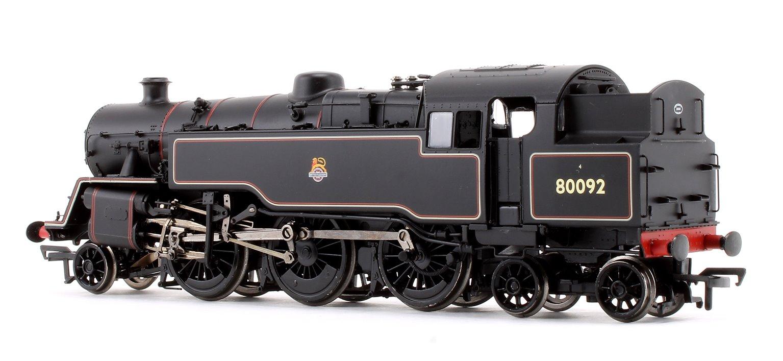BR Standard Class 4MT Tank 80092 BR Black Early Emblem 2-6-4 Tank Locomotive