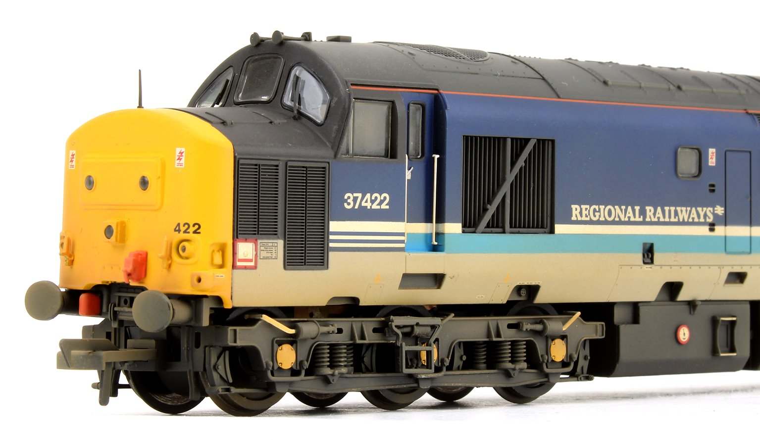 Class 37 422 'Robert.F.Fairlie' Regional Railways Diesel Locomotive (Weathered Edition)