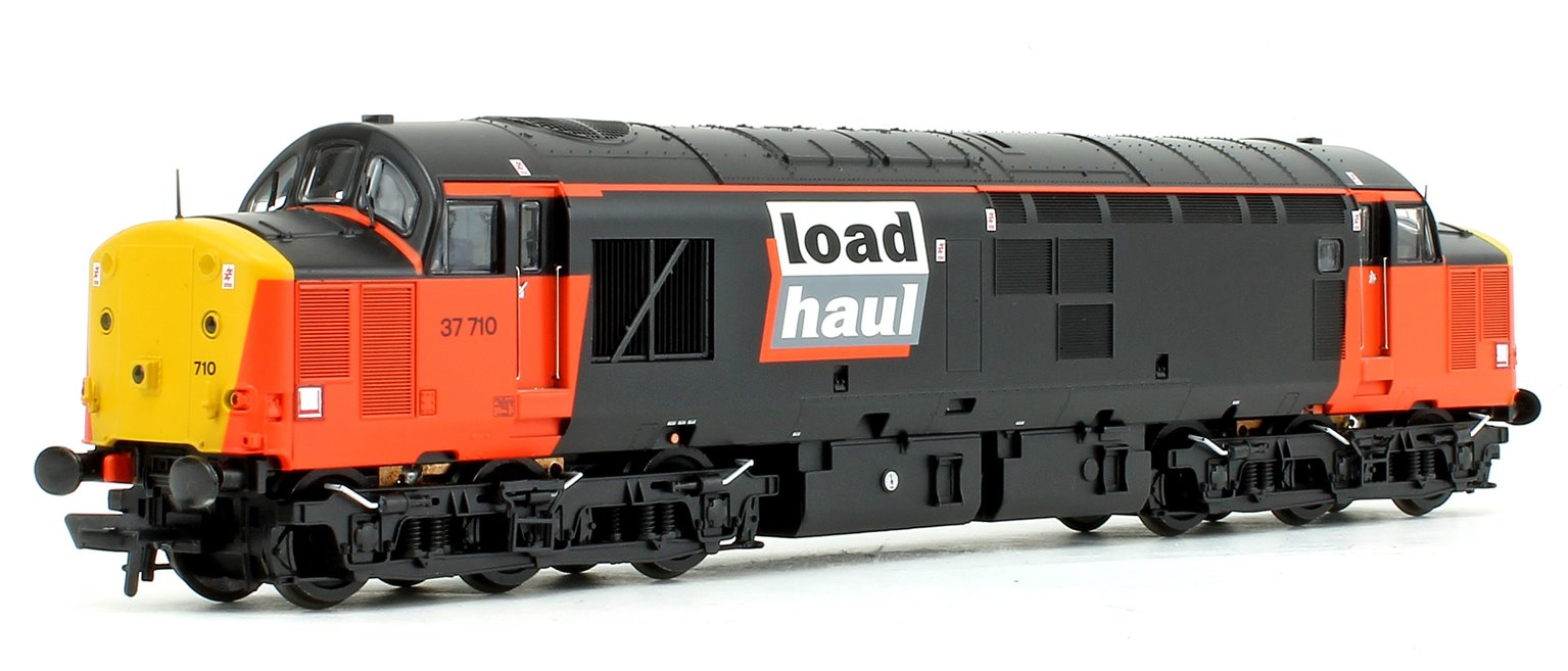Class 37/7 37710 Loadhaul Diesel Locomotive DCC Sound