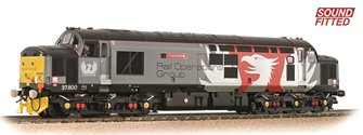 Class 37/7 Refurbished 37800 'Cassiopeia' Europhoenix (ROG) DCC Sound Fitted