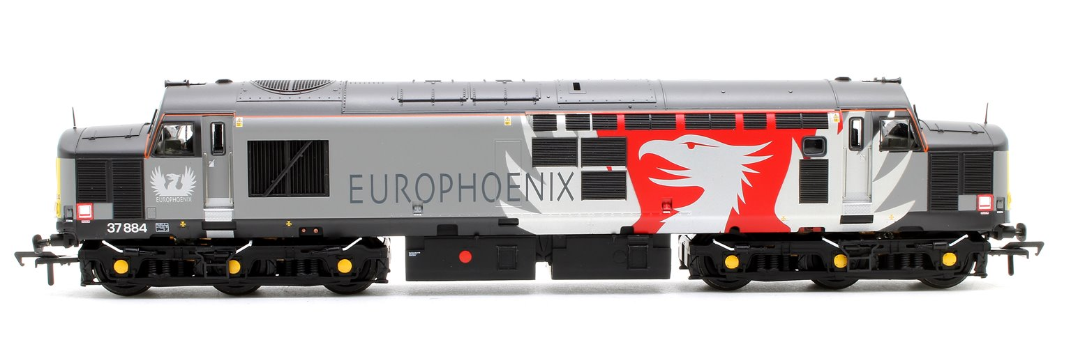 Class 37/7 37884 Europhoenix Diesel Locomotive with DCC Sound