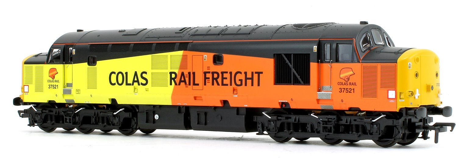 Class 37/5 Refurbished 37521 Colas Rail Freight Diesel Locomotive - DCC Sound