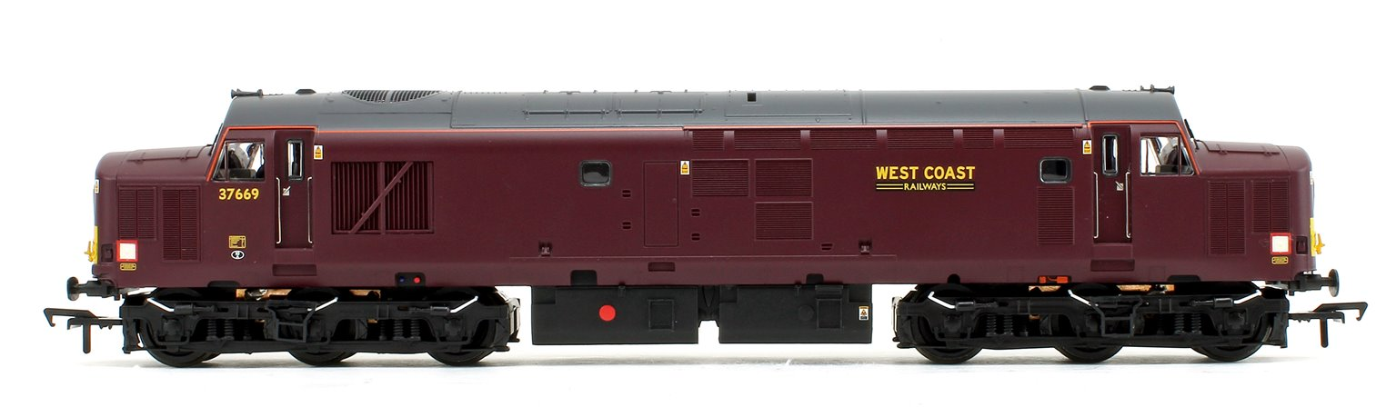 Class 37/5 Refurbished 37669 West Coast Railways WCRC Maroon Diesel Locomotive