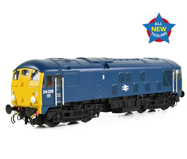 Class 24/0 24035 Disc Headcode BR Blue