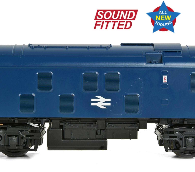 Class 24/0 24035 Disc Headcode BR Blue - DCC Sound