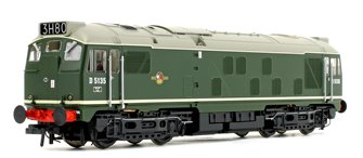Class 24/1 D5135 BR Green (Late Crest) Diesel Locomotive