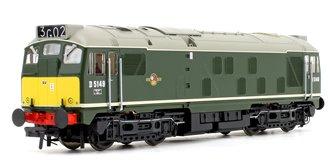 Class 24/1 D5149 BR Green (Small Yellow Panels) Diesel Locomotive