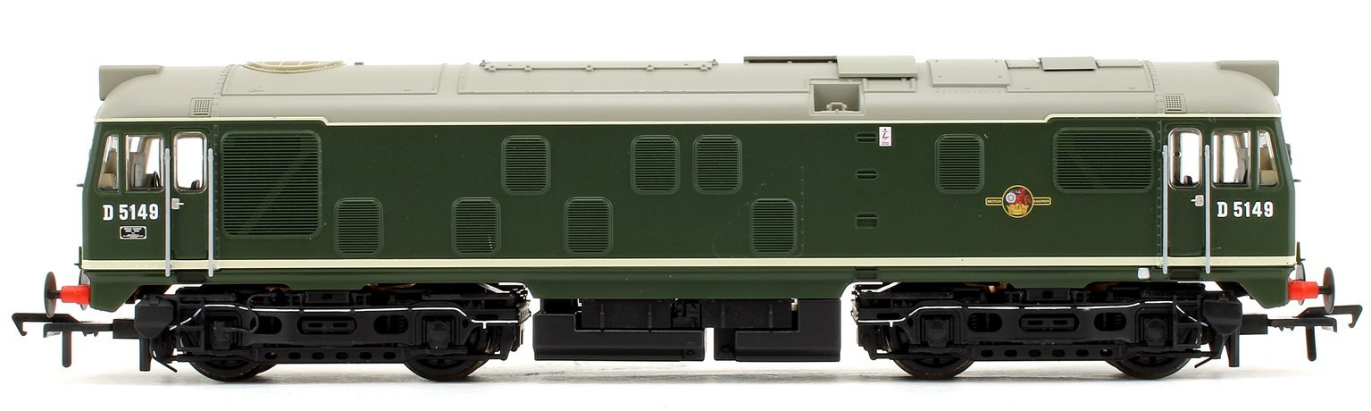 Class 24/1 D5149 BR Green (Small Yellow Panels) Diesel Locomotive