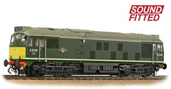 Class 24/1 D5149 BR Green (Small Yellow Panels) Diesel Locomotive (DCC Sound)