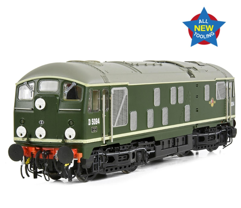 Class 24/1 D5094 Disc Headcode BR Green (Late Crest)