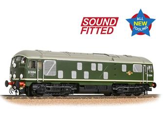 Class 24/1 D5094 Disc Headcode BR Green (Late Crest) - DCC Sound