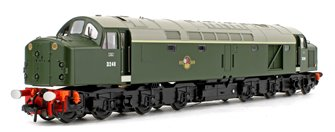 Class 40 BR Green (Late Crest) Disc Headcode Diesel Locomotive No.D248