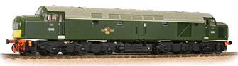 Class 40 Centre Headcode D365 BR Green (Small Yellow Panels) DCC Sound