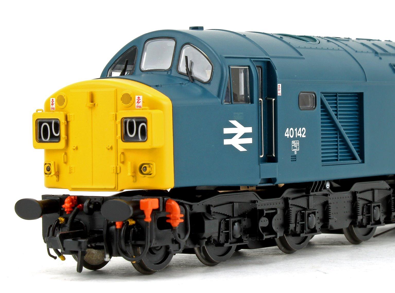 Class 40 142 BR Blue (Split Headcode) Diesel Locomotive DCC Sound