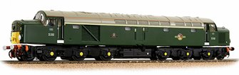 Class 40 Disc Headcode D213 'Andania' BR Green (Small Yellow Panels)