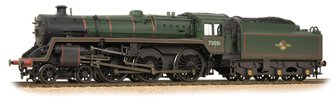 BR Standard Class 5MT No. 73051 BR Lined Green Late Crest Weathered