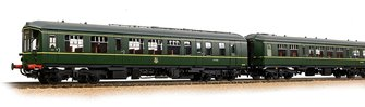 Derby Lightweight 2-Car DMU BR Green (Early Emblem)