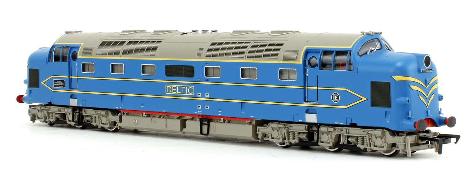 DP1 Prototype Deltic Diesel Locomotive (West Coast Mainline Livery)