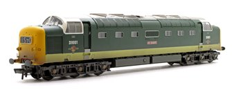 'St.Paddy' Class 55 Deltic BR Two-Tone Green Diesel Locomotive No.D9001 (Weathered Edition)