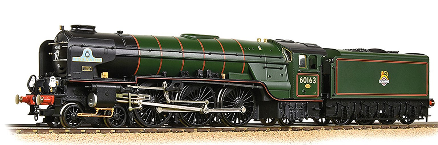 LNER A1 60163 'Tornado' BR Lined Green (Late Crest) - DCC Sound