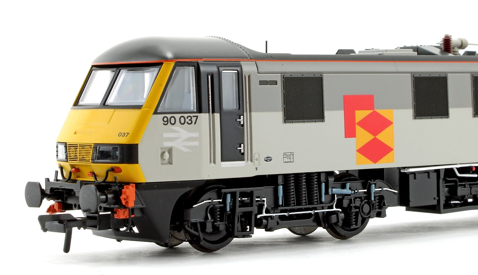 Class 90 90037 BR Railfreight Distribution Electric Locomotive