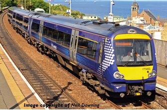 Class 170/4 3-Car DMU No. 170453 in ScotRail (Saltire) livery