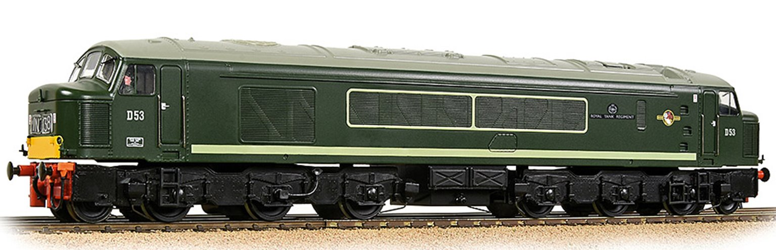 Class 45/0 Centre Headcode D53 'Royal Tank Regiment' BR Green (Small Yellow Panels) - DCC Sound