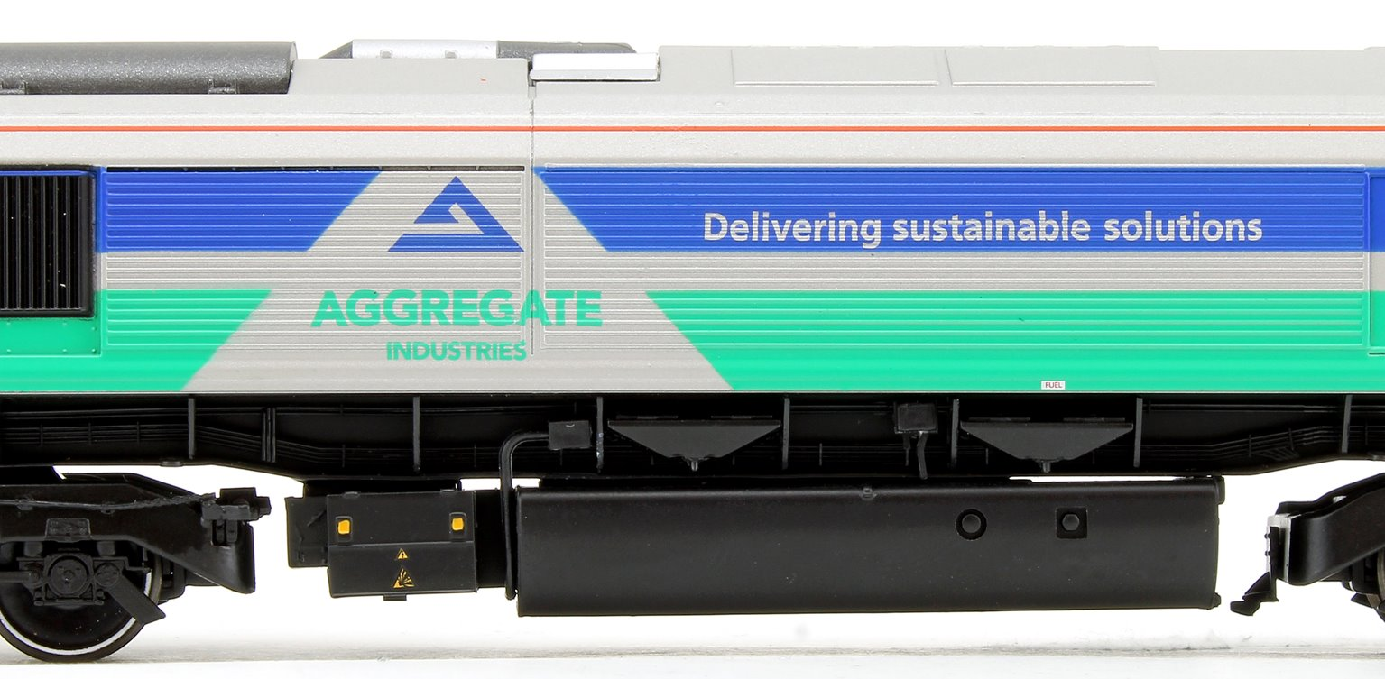 Class 66 711 'Sence' GBRF Aggregates Diesel Locomotive