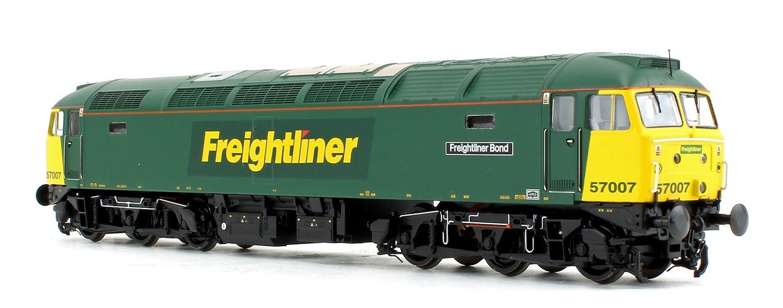 Class 57/0 57007 'Freightliner Bond' Freightliner Diesel Locomotive DCC SOUND