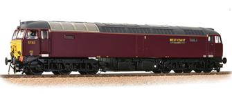 Class 57/3 57313 West Coast WCRC Maroon Diesel Locomotive