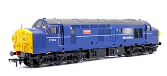 Class 37/0 37055 'Rail Celebrity' Mainline Blue Diesel Locomotive