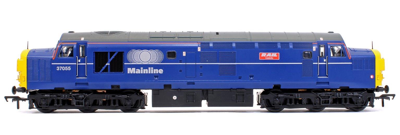 Class 37/0 37055 'Rail Celebrity' Mainline Blue Diesel Locomotive