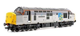 Class 37/0 37275 Stainless Pioneer BR Railfreight Metals Diesel Locomotive