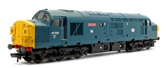 Class 37/0 37026 'Loch Awe' BR Blue Diesel Locomotive