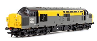 Class 37/0 37046 BR Grey & Yellow 'Dutch' Split Headcode Diesel Locomotive